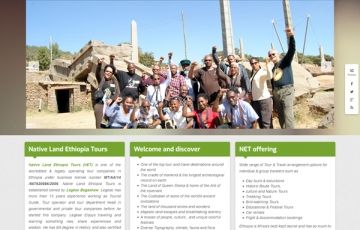 Nativeland Ethiopia tours
